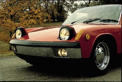 This 1972 Porsche 914/6 was one of the last not saddled with add-ons to meet federal