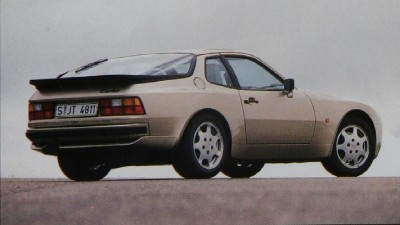 Porsche 944 Turbo rear view