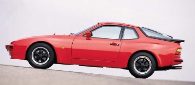 The Porsche 944 boasted a 2.5 liter