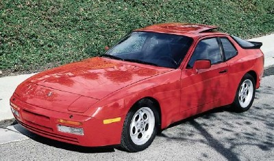 The Porsche 944 Turbo could go 0-60 mph in six seconds flat and had a top speed of 153 mph.