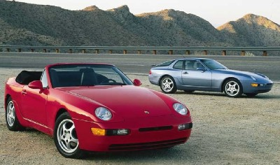 The Porsche 968 didn't offer a Turbo version, just the coupe and cabrio.