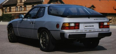 Porsche 924 Turbo rear view