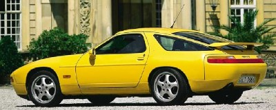 The Porsche 928 GTS saw little change in its swan-song year, 1995.