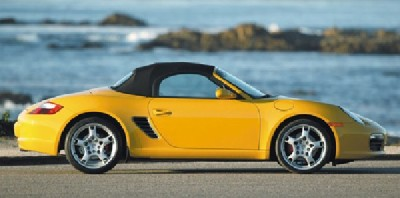 2005 Porsche Boxster S side view