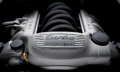 2004 Porsche Cayenne Turbo engine