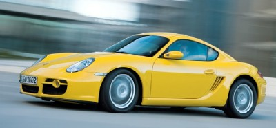 2007 Porsche Cayman base model side view