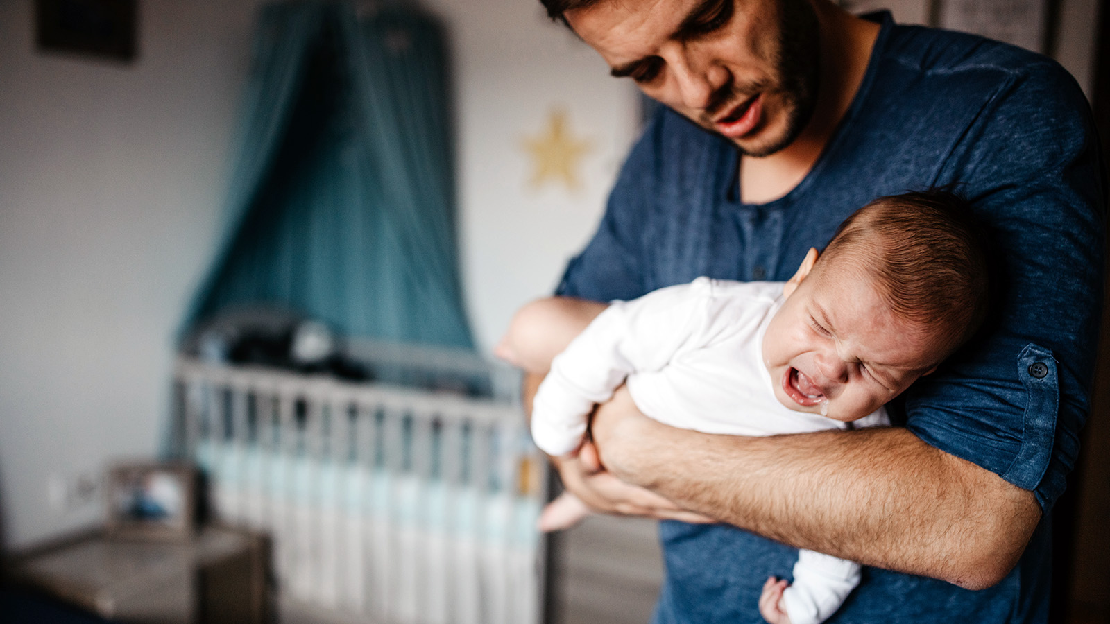 New Dads Deal With Postpartum Depression, Too