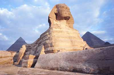 The Great Sphinx has fascinated travelers for centuries.