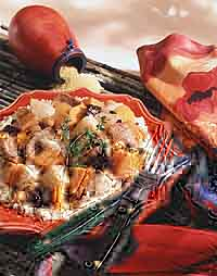 Pork with Couscous & Root Vegetables