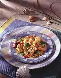 Shrimp & Snow Peas with Rotini