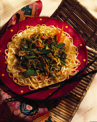 Stir-Fried Pork Lo Mein