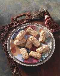 Finnish Nut Logs (Pahkinaleivat)