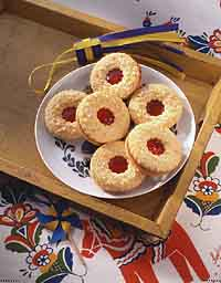 Swedish Sandwich Cookies (Syltkakor)