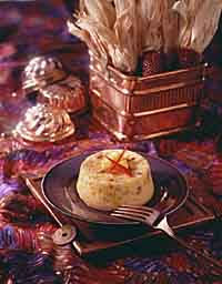 Baked Corn Timbale