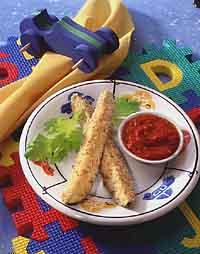 Savory Zucchini Stix