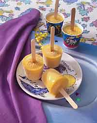 Banana Freezer Pops