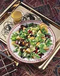 Winter Pear and Stilton Salad