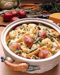 Fresh Vegetable Casserole