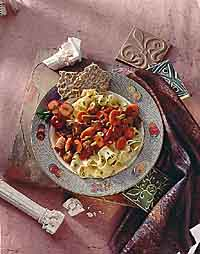 Pork and Vegetable Stew with Noodles