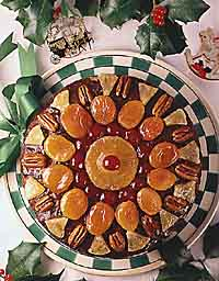 Golden Holiday Fruitcake