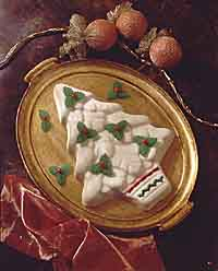 White Chocolate Bavarian Christmas Tree