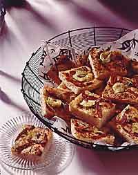 Tomato-Artichoke Focaccia