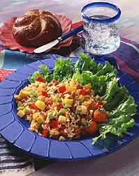 Creole Red Bean and Rice Salad