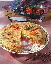 Linguine Frittata