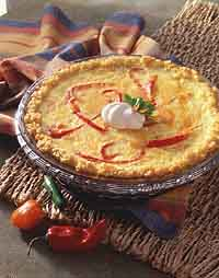 Tamale Potato Quiche