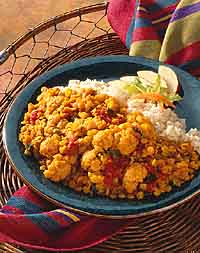 Lentil Rice Curry