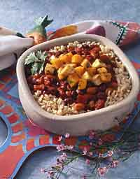 Three-Bean Caribbean Chili
