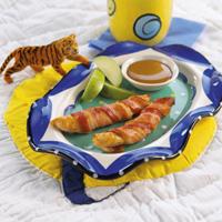 Chicken Tenders in Bacon Blankets