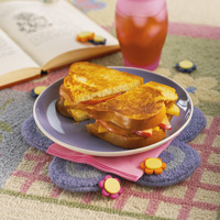 Apple and Cheddar Panini