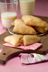 Ham, Apple and Cheese Turnovers