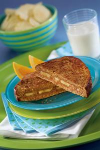Super Peanut Butter Sandwich