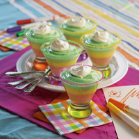 Rainbow Pastel Parfaits