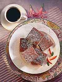 Choco Cheesecake Squares