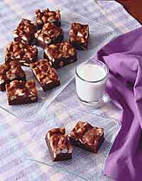 Chocolatey Rocky Road Brownies