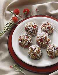 No-Bake Cherry Crisps