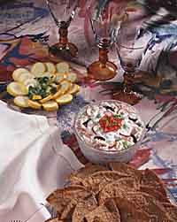 Layered White Bean and Tuna Dip