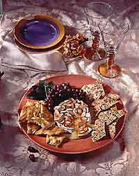 Baked Apricot Brie