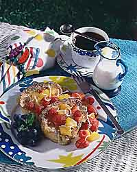 Pineapple French Toast with Ambrosia Salsa