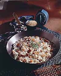 Quick Skillet Rice Gratin