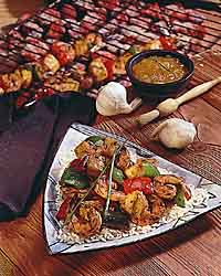 Jamaican Shrimp & Pineapple Kabobs