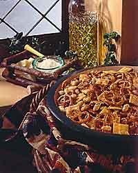 Easy Italian No-Bake Snack Mix