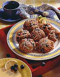 Blueberry Dream Fritters