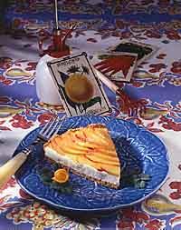 Nectarine Pecan Tart