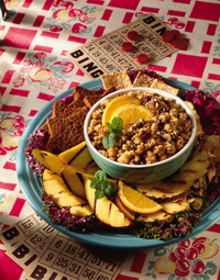 Grilled Fruits with Orange Couscous