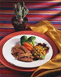 Pork Tenderloin with Mandarin Salsa