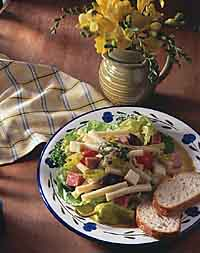 Marinated Antipasto Pasta Salad